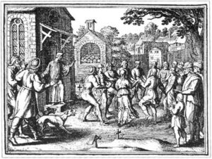 dancing-engraving