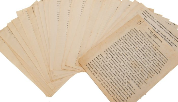 Encontrado el manuscrito perdido de Lovecraft, un estudio encargado por Harry Houdini